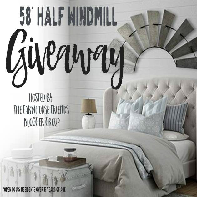 windmill blades giveaway - Knick of Time