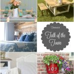 Talk of the Town #33: Tablescape, Wood Wall + More