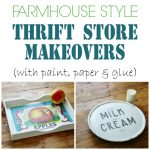 Thrift Store Makeovers and No More Complaining