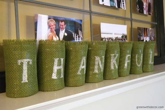 Thanksgiving Repurposed Cans Decor: 20+ Creative Ways to Repurpse Tin Cans | www.knickoftime.net