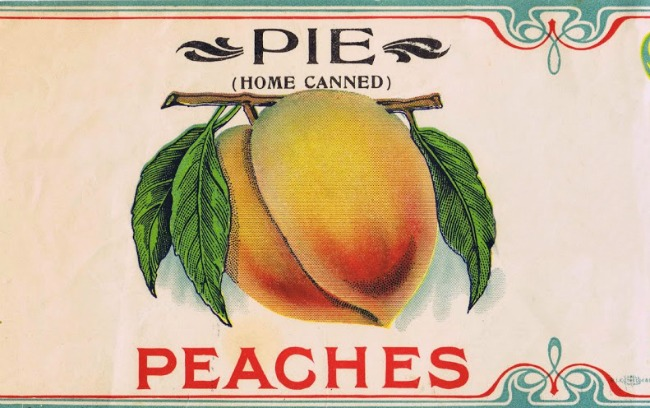 pie fruit label - Knick of Time