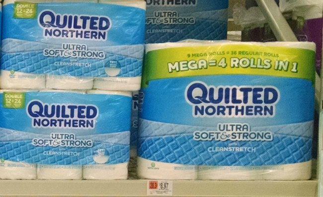 quilted northern ultra soft and strong mega rolls