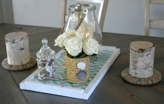Tin Can Rope Vase: 20+ Creative Ways to Repurpse Tin Cans | www.knickoftime.net