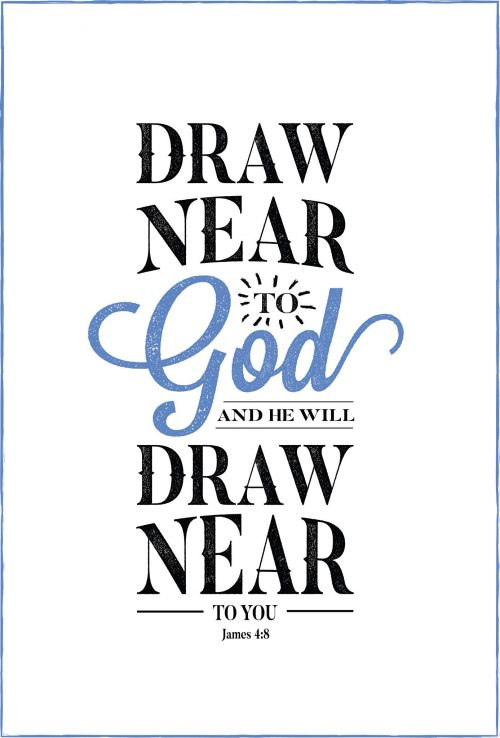 Graphic design typography Bible verse poster - www.knickoftime.net