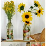 Get Well Soon or Any Occasion DIY Flower Vase Bottles