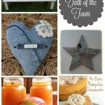 Reclaimed Wood Stars, Denim Hearts, +More Talk of the Town #39
