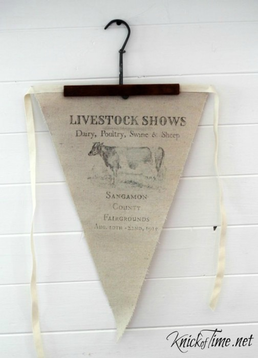 Celebrate the county fair with these three old-fashioned DIY projects - www.knickoftime.net