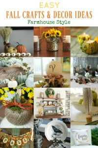 Farmhouse Style Easy Fall Crafts and DIY Home Decor Ideas | www.knickoftime.net