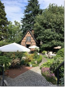 tiny house in cottage garden featured at Talk of the Town