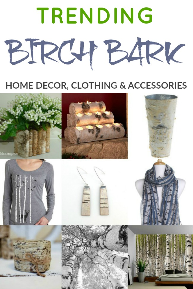 Trending Birch Tree Home Decor, Clothing and Accessories | www.knickoftime.net