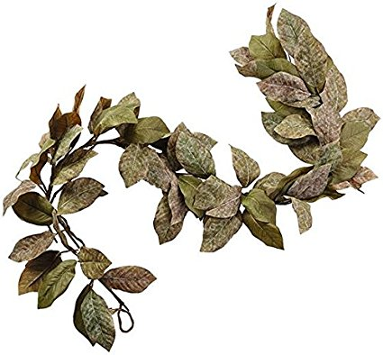 magnolia leaf garland at Amazon