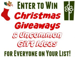 Black Friday Giveaways, Sales and Uncommon Gifts