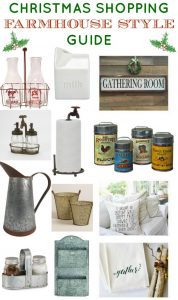 Fixer Upper Farmhouse Style Decor Holiday Christmas Shopping Guide - www.knickoftime.net