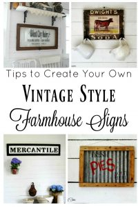 My Five Favorite Farmhouse Style Sign Projects