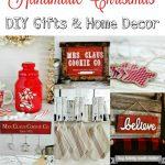 Homemade Christmas Gifts & Decor