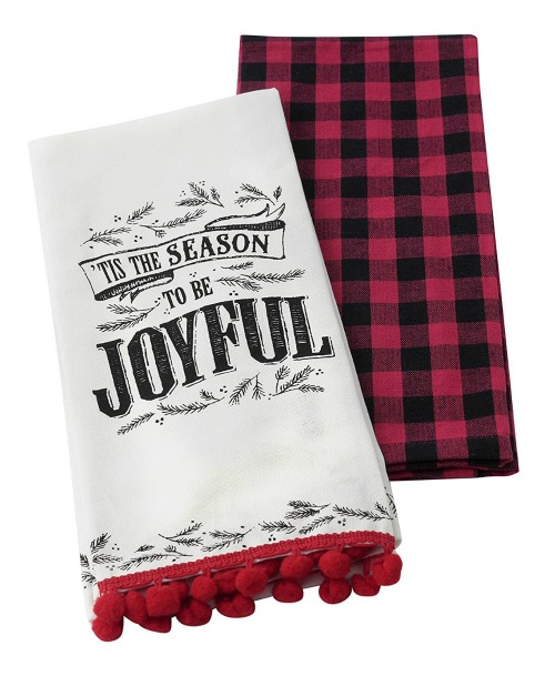 tis-the-season-buffalo-check-christmas-towels