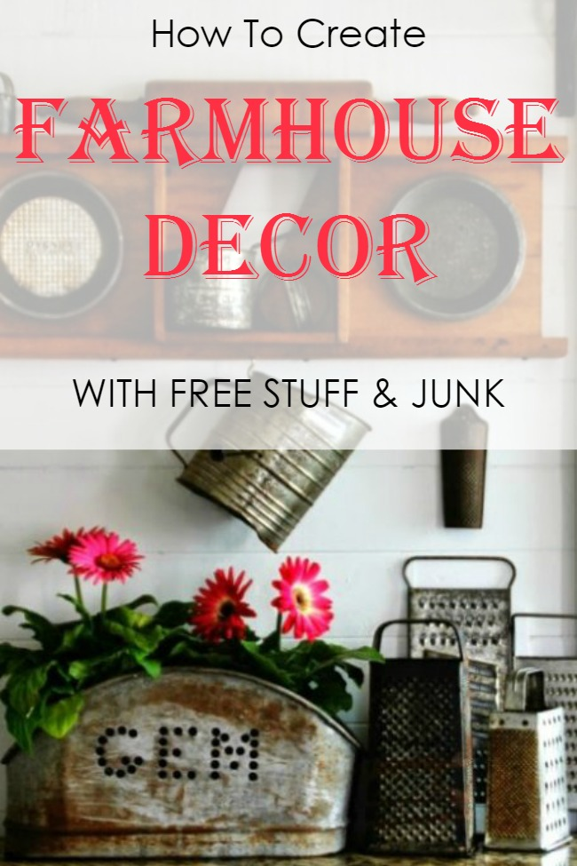 Decorate the home of your dreams using free stuff and discarded junk | www.knickoftime.net