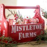 Glowing Mason Jar Luminaries DIY Christmas Tote