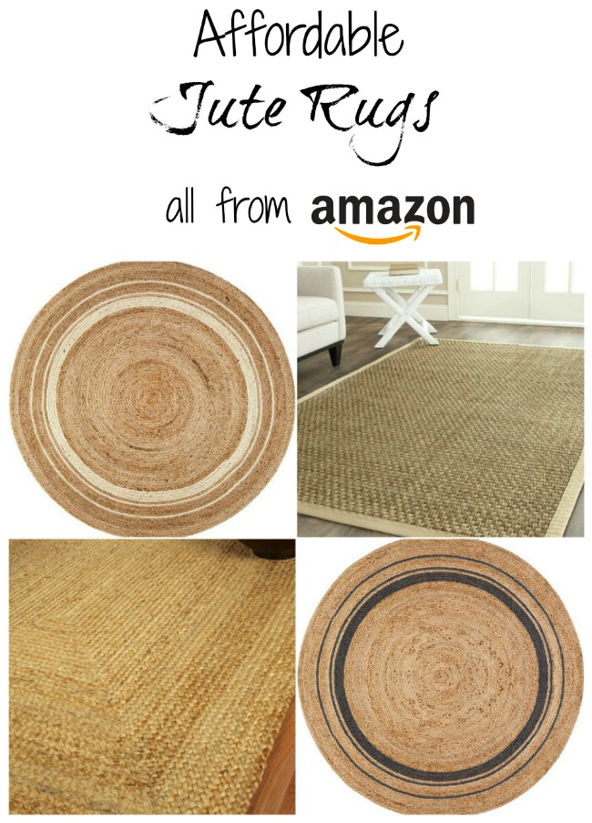 10 Affordable Jute Rugs You Can Buy on Amazon | Knick of Time Farmhouse Style Design Board | www.knickoftime.net