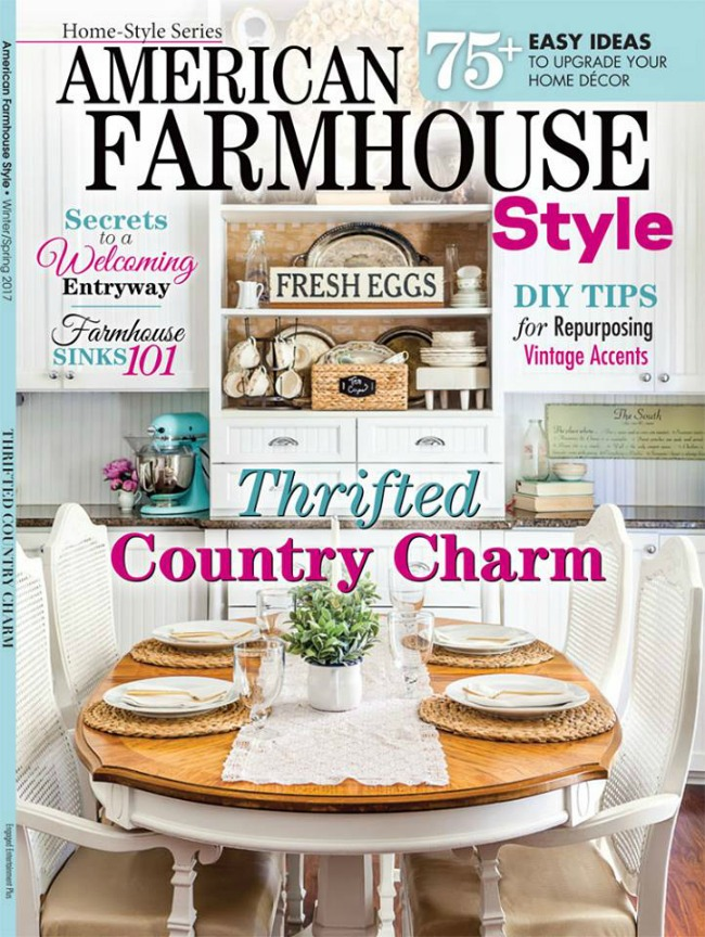Knick of Time feature in American Farmhouse Style magazine | knickoftime.net