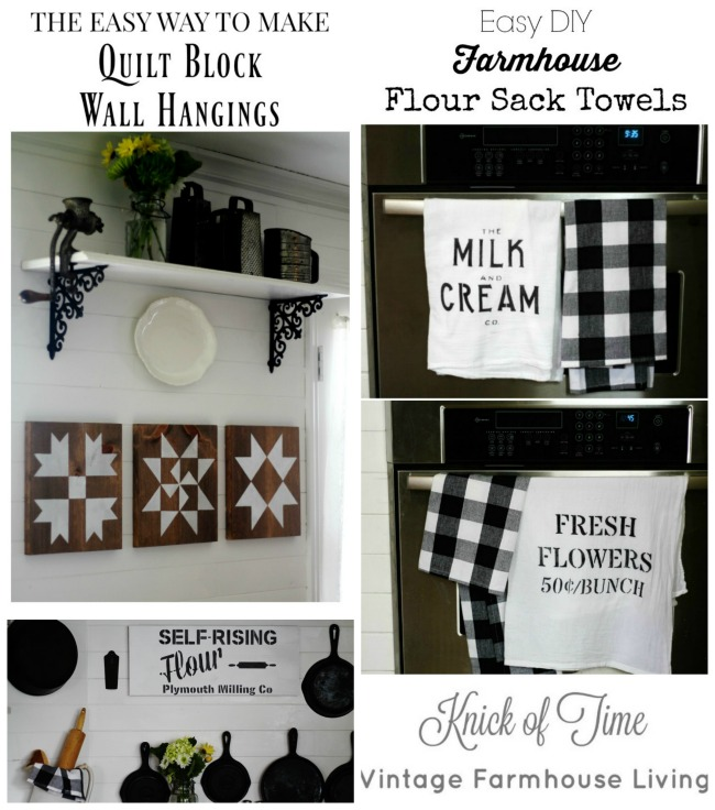 Farmhouse style decor and DIY projects by Knick of Time | www.knickoftime.net