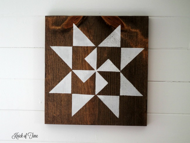 The Lazy Girl S Guide To Make A Farmhouse Barn Quilt Block