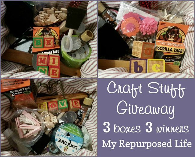 Giveaway at My Repurposed Life