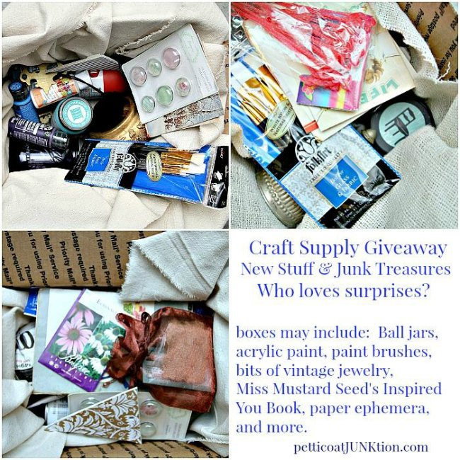 Giveaway at Petticoat Junktion