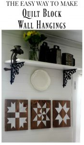 The Lazy Girl's Guide to Make a Farmhouse Barn Quilt Block Sign with Step-by-Step Tutorial