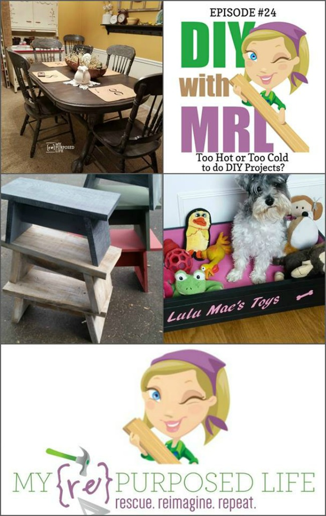 Oak Table & Chairs Makeover