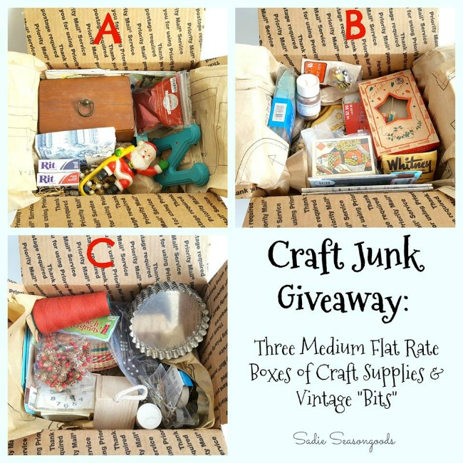 Giveaway at Sadie Seasongoods
