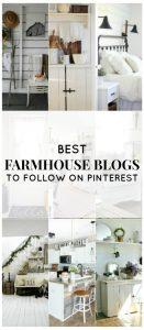 Best Farmhouse Blogs to Follow on Pinterest   www.knickoftime.net