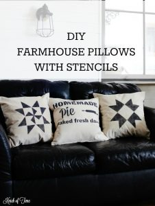 How to Make Simple Farmhouse Decorative Pillows, a Few Tips & a New Video