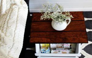 The Farmhouse End Table That Almost Didn't Have a Happy Ending