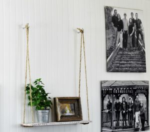 Farmhouse Style DIY Decor Made with Salvaged Wood