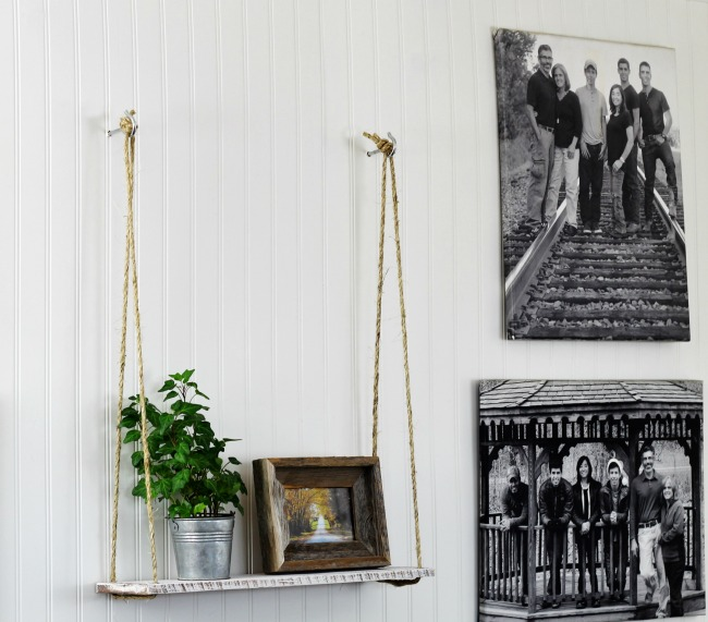 Instead Of Hanging From A Tree, The Mini Version Is A Rope Shelf That Hangs  On The Wall.