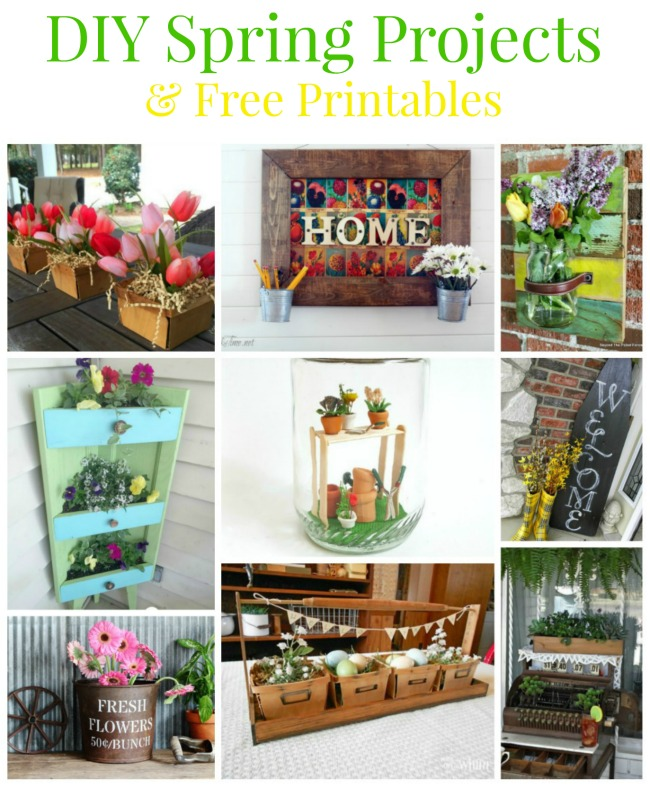 15 DIY Spring Projects and Free Printables | www.knickoftime.net