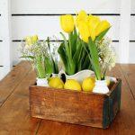 Lemon Inspired Rustic Table Centerpiece and Fresh Homemade Lemonade Recipe