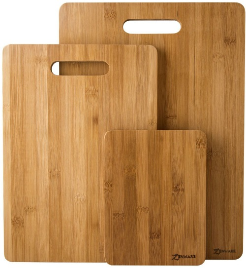 Bamboo kitchen cutting boards affordable kitchen gift ideas | www.knickoftime.net