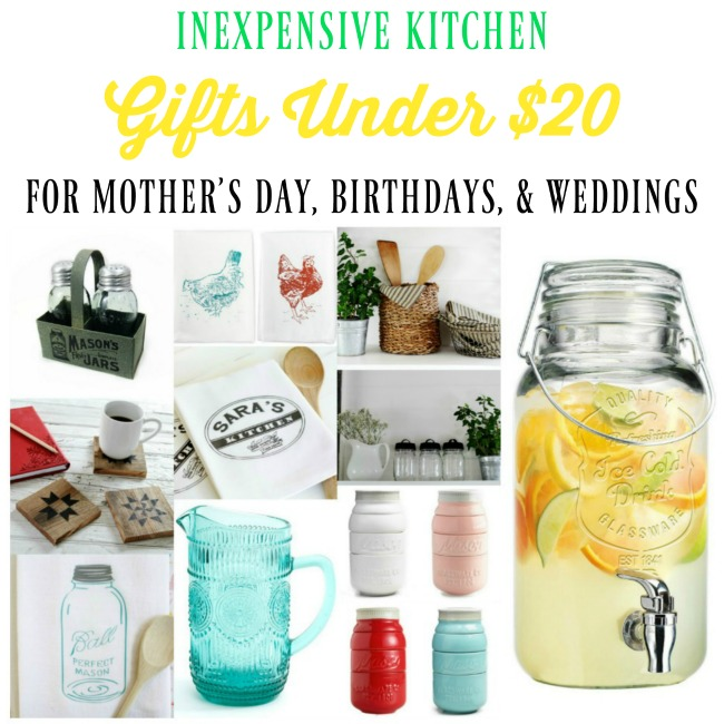 inexpensive gifts for Mother's Day, birthdays, weddings gifts for women | www.knickoftime.net
