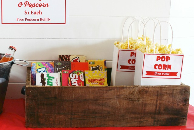Planning a family movie theater at home night is fun, easy and inexpensive with these tips | www.knickoftime.net