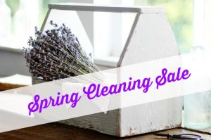 Farmhouse style home decor spring cleaning sale at Knick of Time | www.knickoftime.net