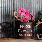 Spring Garden Decorating in the Farmhouse Guest Room