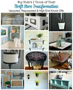 DIY Inexpensive Home Decor Upcycled, Repurposed Thrift Store Makeovers | www.knickoftime.net