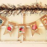 Weekending | Burlap Banners, Grain Sack Stripe Wall Pockets,What's Blooming, & Bad Chicken Joke