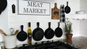Meat Market Farmhouse Kitchen Sign