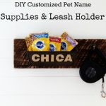 Dog Treats Storage with Leash Hanger | Share Your Birth Order Story
