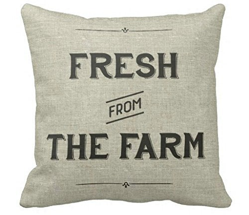 Fresh from the farm Farmhouse Style Pillows to Make or Buy | www.knickoftime.net