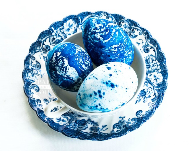 Weekending | Indigo dyed Easter eggs and more random thoughts | www.knickoftime.net
