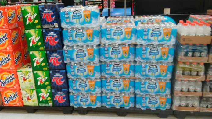 Nestle Pure Life water available at Walmart   www.knickoftime.net